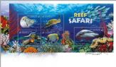 01/08/2018 Australia FDC Stamp Collecting Month 2018: Reef Safari miniature sheet
